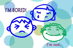 Patience Blog on Bored Kids